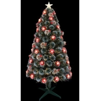 China White Gaint Christmas Internal Fiber Optic Tree on sale