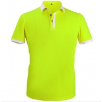 Custom 100% cotton polo shirt for men