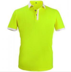 China Custom 100% cotton polo shirt for men on sale