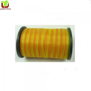 China Yellow and Orange Poly Tape For Farm Fence on sale
