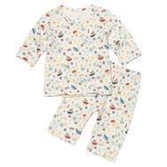 China BOY Prince of the Sea Organic 2-Piece 3quarters Pajama Set on sale