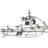 Tug Boat 16 m 1000HP Tug Boat