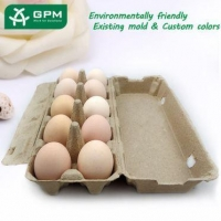 Molded Pulp Egg Box
