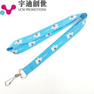 China High Quality Wholesale ID Card Neck Strap Personalized Single Custom Lanyard on sale