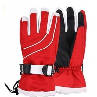 China Best Red Womens Ski Gloves on sale