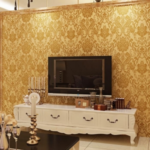 China Self-adhesive European-style 3d Wallpaper Roll on sale