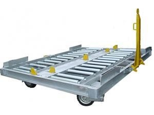 China 10FT Pallet Dolly for Airport Cargo on sale
