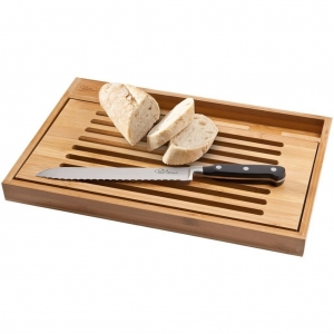 China BISTRO CUTTING BOARD WITH BREAD KNIFE on sale