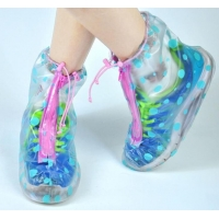 China Transparent Belt Point Rain Boots on sale