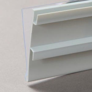 China PVC Plastic Label Holder Data Strip For Supermarket Shelvings ITR39 on sale
