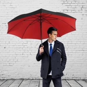 China Saiveina 56 Inch Windproof Golf Umbrella Auto Open with Full Fiber 8 Ribs on sale