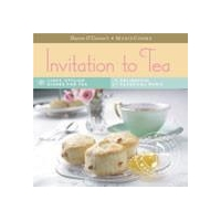 Gourmet Food Gifts Menus and Music Boxed Recipe Cards with Music CD -Invitation to Tea