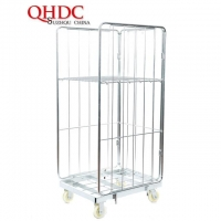 warehouse roll cage trolley for storage and transport JHD-RC-003
