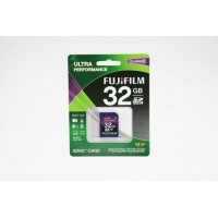 FUJIFILM SDHC Memory Card 32GB Class 10