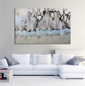 China Winter Sonata Abstract Wall Art on sale