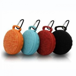 China Sport Cloth Wireless Speaker Clip 2 Stereo Sound Box on sale