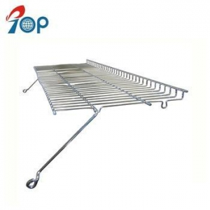 China Large outdoor grill stainless steel bbq warming grate on sale