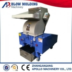 Auxiliary machine high efficiency plastic material recycle use strong crusher