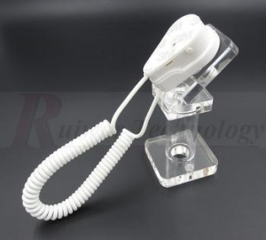 China Iphone display trestle with cable positioning protection used in iPhone store sample window on sale