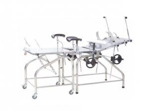 China A-72 Multi-purpose obstetric bed (stainless steel) on sale