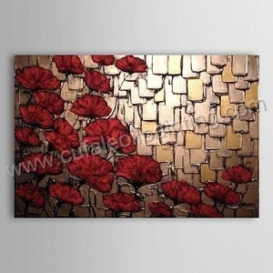 China No.174 hand-painted Wall Art Decor Modern Abstract Oil Painting on Canvas on sale