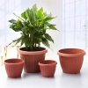 China Basic Round Faux Clay Flower Pot for sale