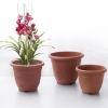 China Faux Terracotta Flower Planter Round for sale
