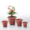 China Plastic Terracotta Flower Pot Sets for sale