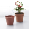China Basic Round Clay Nursery Pot for sale