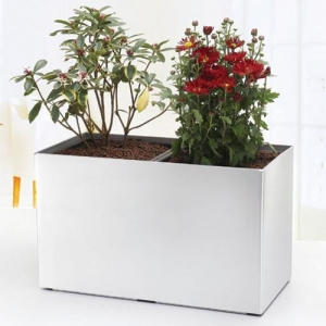 China Combined Rectangle Self Watering Flower Pot wholesale