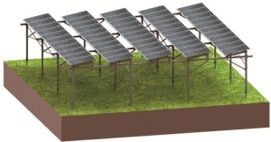 China Agriculture PV Mounting System on sale