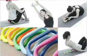 China High Quality Hard Design Home Fitness Wave Stretch Ring on sale