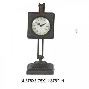 China Clocks New design handmade antique metal table clock-Ason on sale