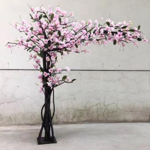 China Artificial flower tree Artificial flower tree on sale