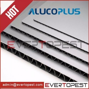 China Aluminum corrugated composite panel on sale