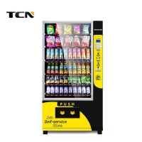 China TCN-D720-10G automatic bottled canned drink vending machine on sale
