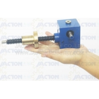 China 1000 lbs Capacity Worm Gear Small Machine Screw Jack on sale