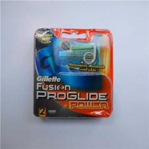 China Gillette Fusion progide power 2s refill razor blades Russia version on sale