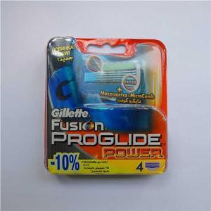 China Gillette Fusion proglide power 4s refill razor blades newest Russia version on sale