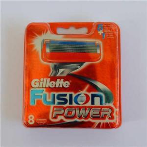 China Gillette Fusion power 8s refill razor blades newest Russia version on sale