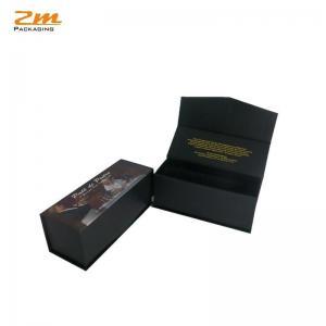 China Custom Black Rigid Magnetic Closure Gift Box Wholesale on sale