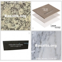 China Blue Granite Violet Buluomei Grain And Diva Beige Marble Tiles