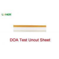 Drug Test Uncut Sheet