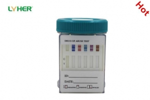 China Multiple Drug Urine Test Key Cup Integrated Drug Diagnostic Combo Test Accurate CE on sale