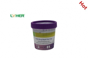 China Multi-drug One Step 2-15 Drug Test Simple Cup (Urine) CE Qualified on sale