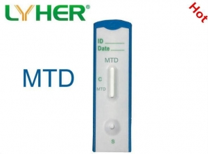 China Drug of Abuse Rapid Cassette Test-MTD Urine Test Cassette-colloidal Gold on sale