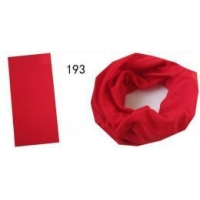 China Tubular Scarf in Plain Red Color (YT- 193) on sale