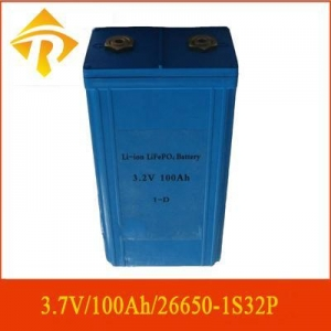China Consumer electronics battery 3.2V100Ah/1S32P on sale