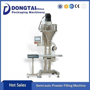 China Packing Machine High Quality Semi automatic spices powder packing machine for Bottles on sale