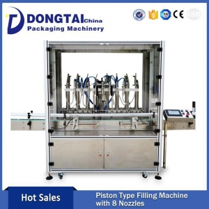 China Oil Filling Machine Product automatic diving type piston Olive Oil Filling Machine on sale